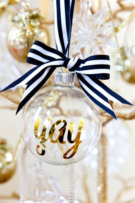 decorations personalized diy personalized ornaments for pizzazzerie