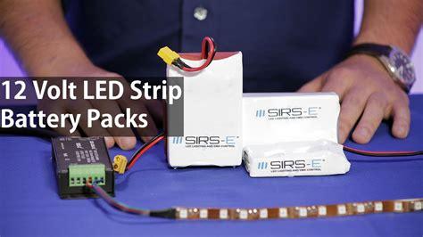 how to led light strips led battery pack 12 volts for led lights high