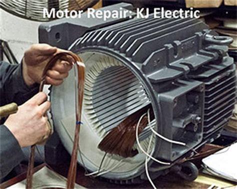 Electric Motor Repair by Electrical Energy Efficiency Part Iii Repair