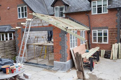 how to build a floor for a house rear house extension overton builder ben builder overton whitchurch hshire