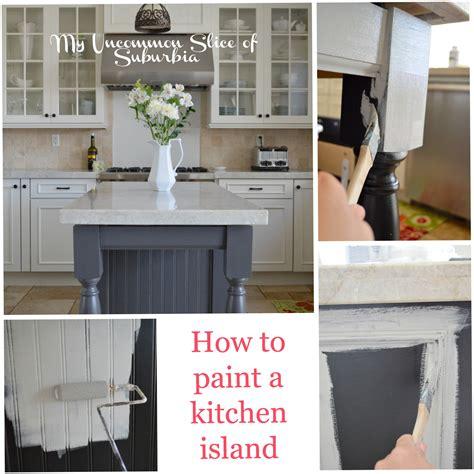 paint kitchen island painted kitchen island