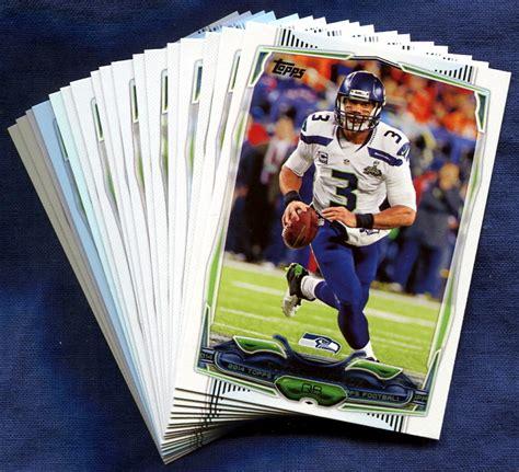 how to make a football card richard sherman football card seattle seahawks 2014 bowl