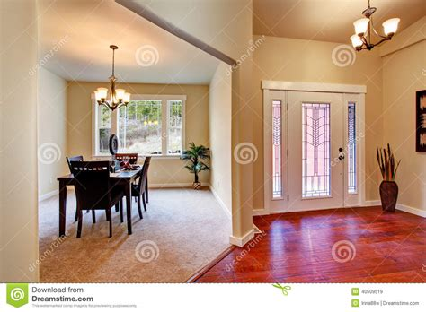 house floor plans with interior photos house interior open floor plan stock photo image 40509519