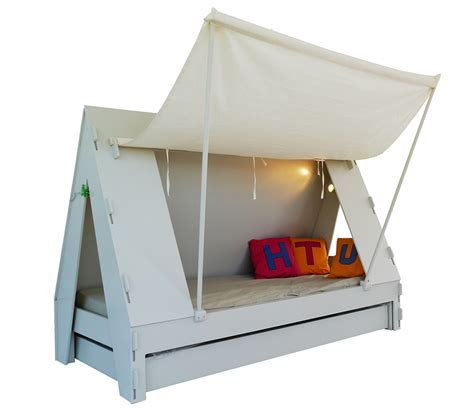 bed with tent trundle bed for children creatively closes into