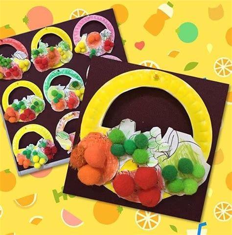 fruit crafts for fruit basket craft 171 funnycrafts