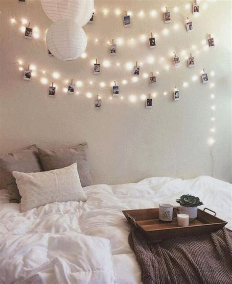 room string lights 22 ways to decorate with string lights in bedroom gurl