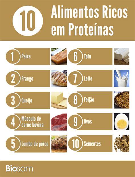 alimentos con alto contenido en proteinas 10 alimentos ricos em prote 237 nas biosom biosom