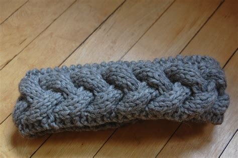 knit braided cable braided knit headband patterns a knitting
