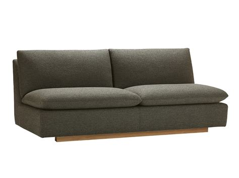 modern armless sofa use the modern designs of armless sofa with your furniture