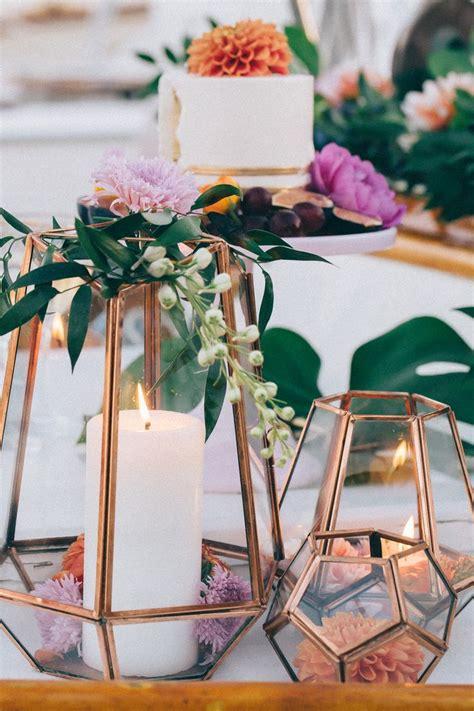 copper decorations ideas for bronze copper wedding table decoration arabia