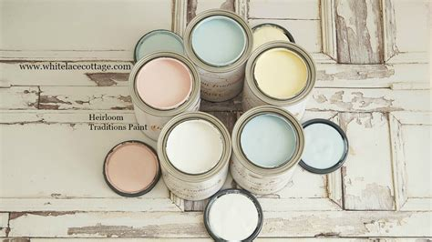 diy chalk paint by heirloom traditions heirloom traditions and diy paint white lace cottage