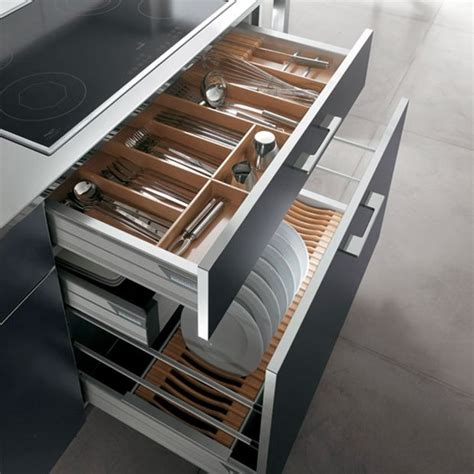 kitchen drawer designs great use of pan drawers storage systems
