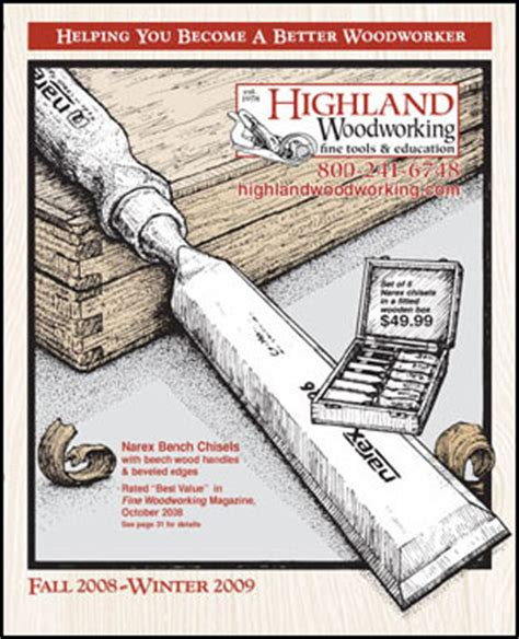 highland woodworking free shipping highland woodworking wood news no 41 january 2009