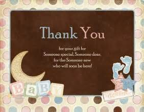 gifts for your at thank you baby shower gifts thank you note for baby