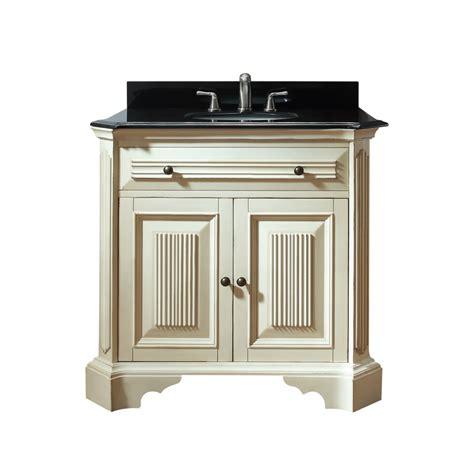 36 Bathroom Vanity Cabinet 36 Inch Single Sink Bathroom Vanity In Distressed White Uvackingswoodv36dw36
