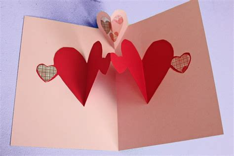 how do you make a s day card easy pop up card tutorial to make with
