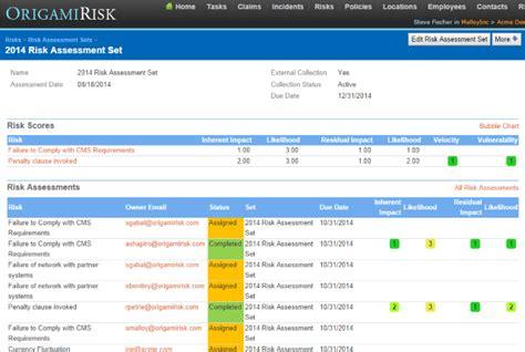 origami risk management origami risk tv new dashboards