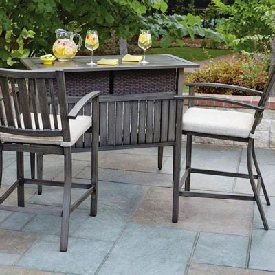 patio furniture bars outdoor bar furniture patio bars the home depot