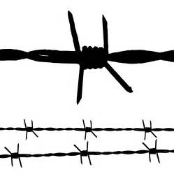 barbed wire vector free download clipart best