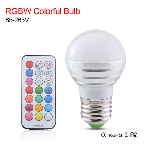 110v led light bulbs rgbw led bulb l e27 led light bulbs ac 110v 220v 5w led