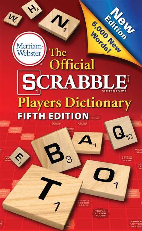 Buy The Official Scrabble Players Dictionary 5th Edition