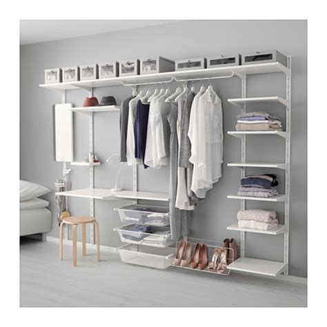 algot ikea hack algot wall upright shelf hook white 278x41x199 cm