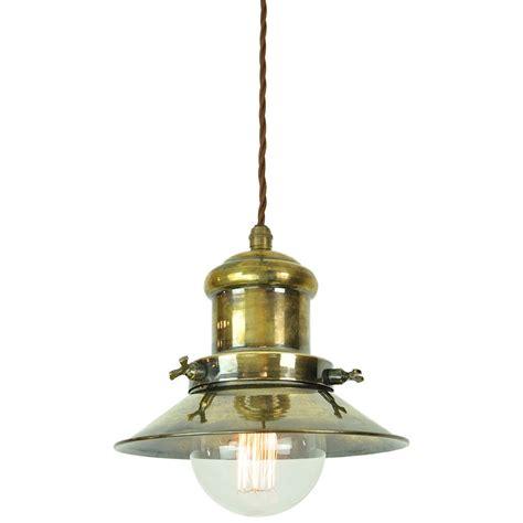 antique brass pendant light brass pendant lighting industrial style dome pendant