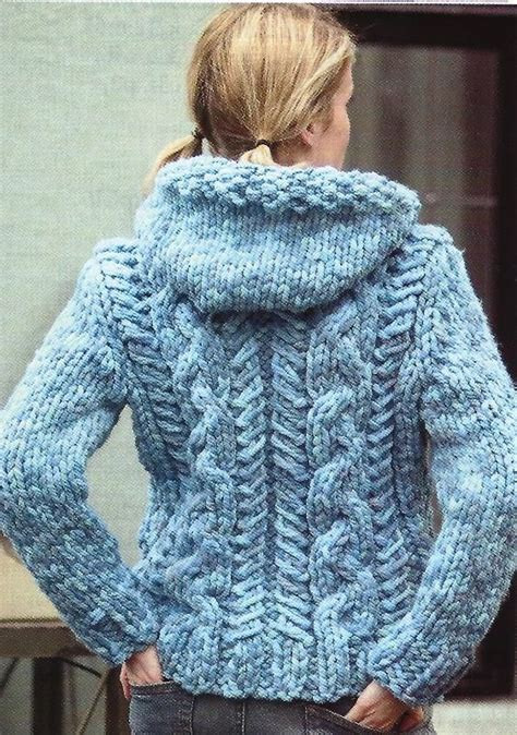 chunky free knitting patterns patterns hoods and warm on
