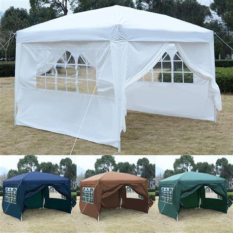 Canopy In by 10 X 10 Ez Pop Up Tent Canopy Gazebo