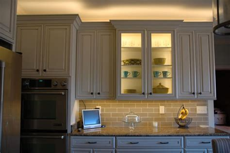 in cabinet lights installing lighting on a glass cabinet inspiredled
