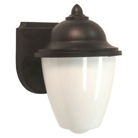 outdoor light fixtures home depot sea gull lighting yorktown 1 light forged iron outdoor