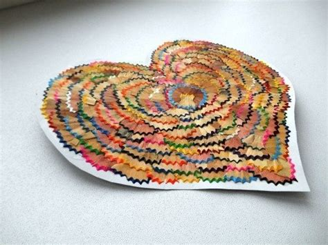 craft from waste material for diy hearts from waste material craft ideas