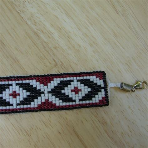 seed bead bracelet patterns loom custom guitar picks and jewelry by nici artfire