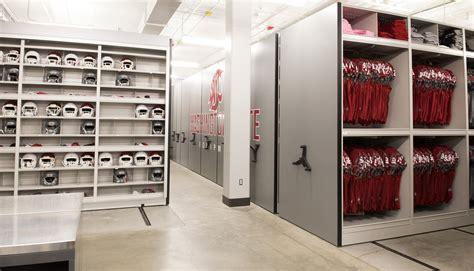 storage room ideas football equipment room storage ideas