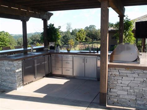 back yard kitchen ideas optimizing an outdoor kitchen layout hgtv