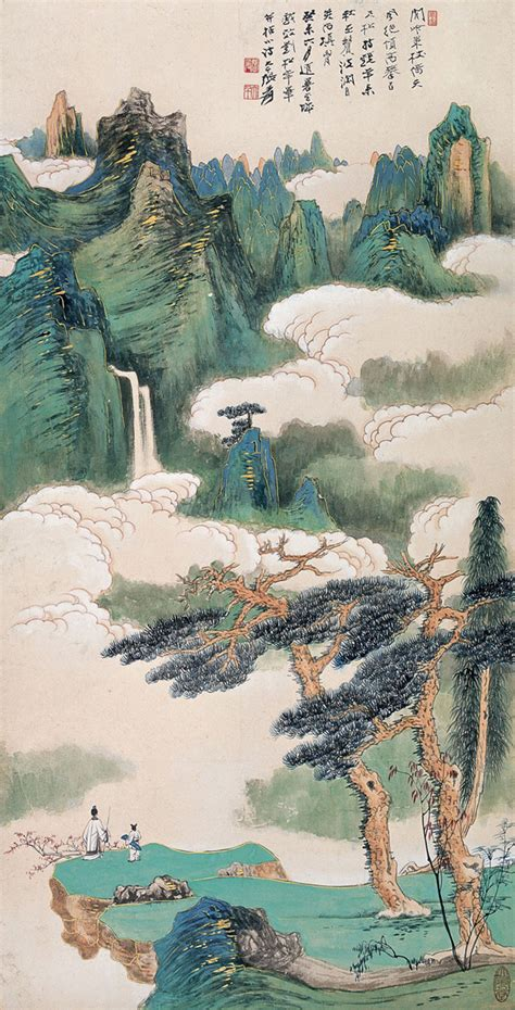znag painting zhang daqian 2 2 5