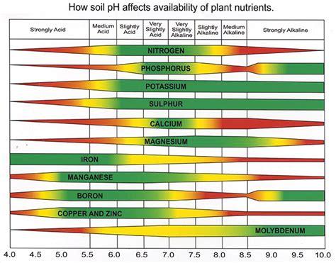 magnum balancing chart importance of soil ph soil care jonathan green