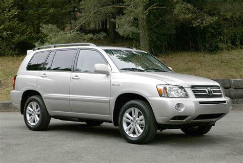 2006 Toyota Highlander Hybrid 4wd 2006 toyota highlander hybrid 4wd autoguide news