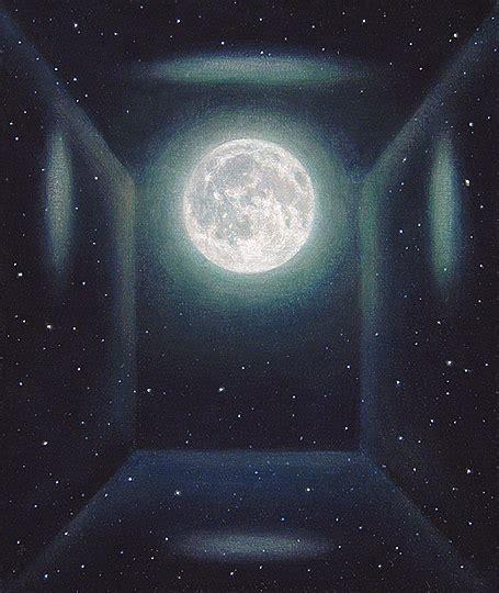 acrylic painting moon david spyker 2001 2007