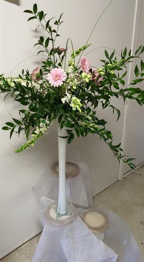 tower vases flower arrangements eiffel tower vase centerpiece wedding flowers by artistic arrangements vase