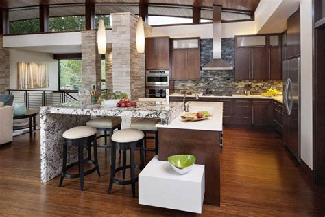 open kitchen layout ideas open kitchen design for spacious cooking space concept traba homes