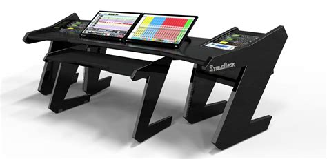 studio desks workstations black studio desk 28 images commander set black studio