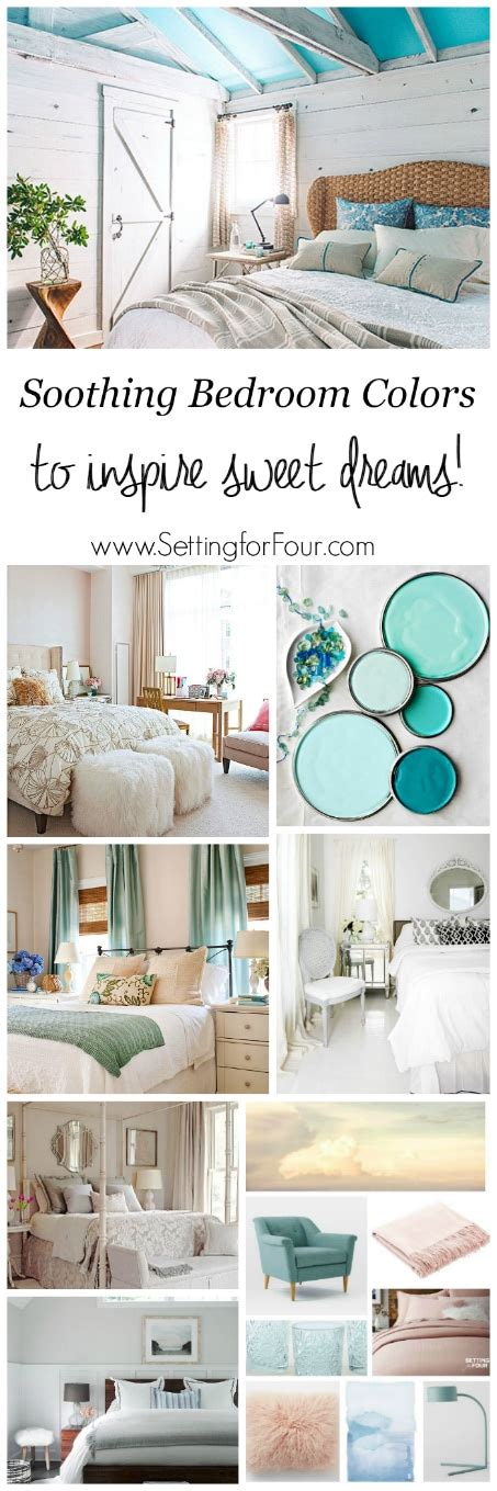 relaxing bedroom color schemes soothing bedroom color schemes setting for four