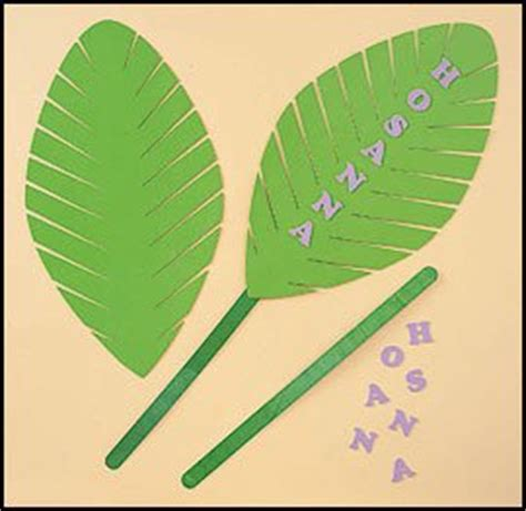 palm sunday crafts for palm leaf foam craft kit decorative hanging
