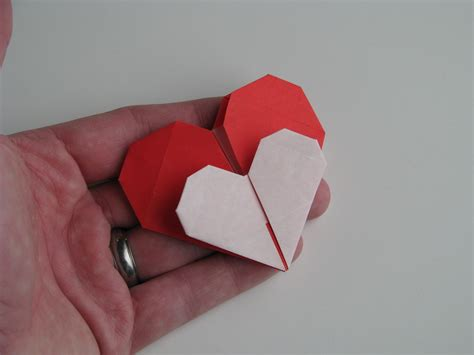 origami for valentines stephen s origami origami hearts