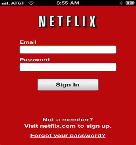 how to make a netflix account without credit card netflix on your iphone or iphone touch without a