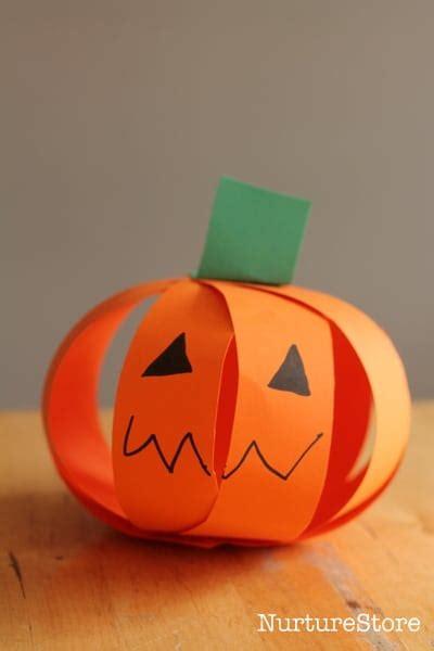 pumpkin crafts for easy pumpkin craft for scissor skills nurturestore