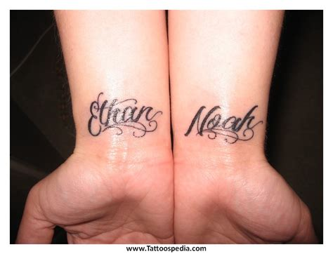 cool tattoo ideas children s names 1