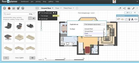 free home plan design software free floor plan software floorplanner review