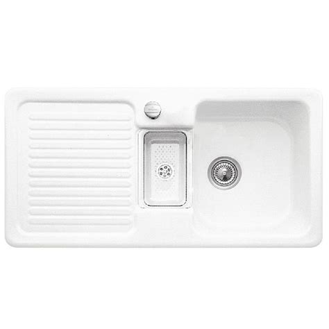 villeroy boch sinks kitchen villeroy and boch condor 60 ceramic kitchen sink